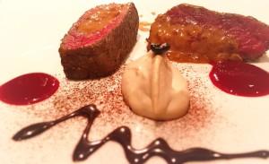 バレンタイン鹿肉